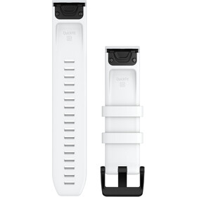 Garmin QuickFit Silikon Uhrarmband 22mm weiß/schwarz